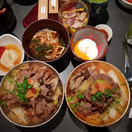 Beef Sukiyaki Don Keisuke Meal 1