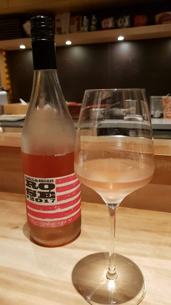 Shirosaka Rose Wine
