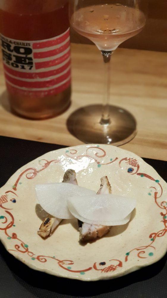 Shirosaka Fish with Radish