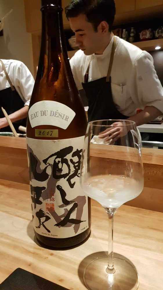 Shirosaka Sake and Chef