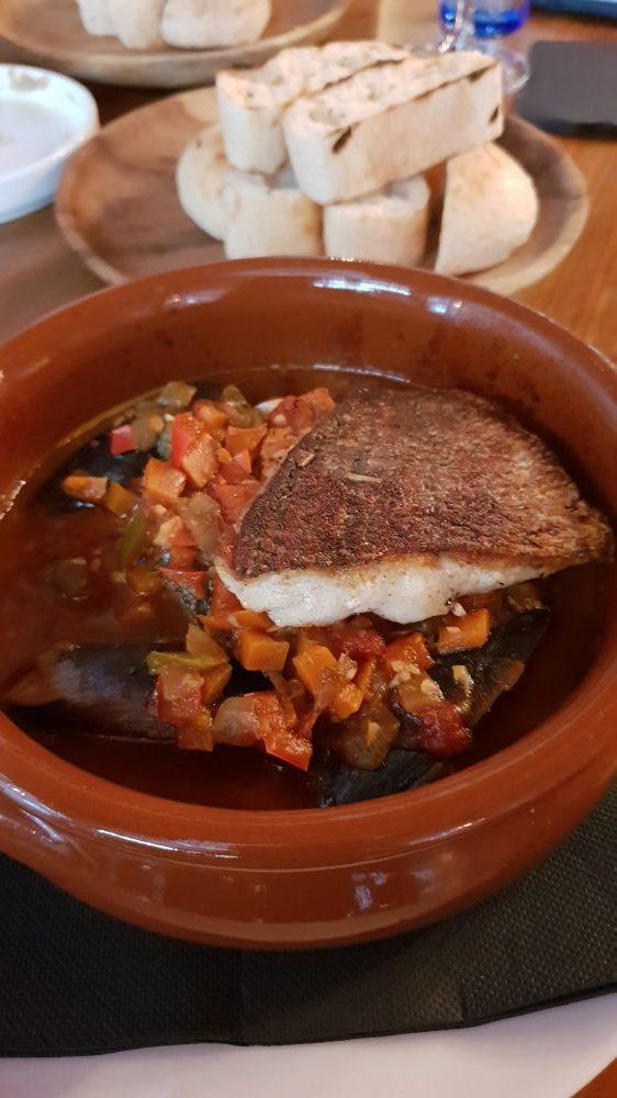 Claypots Full Circle Seafood Stew