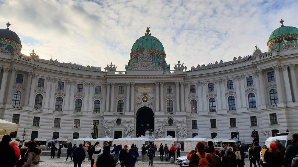 Vienna Hofburg Palace Xmas