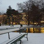 Vienna Burggaten Snow